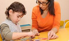 Индивидуальные занятия с детьми